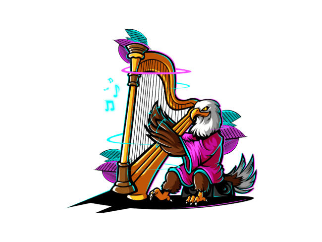 Eagle-with-harp-3