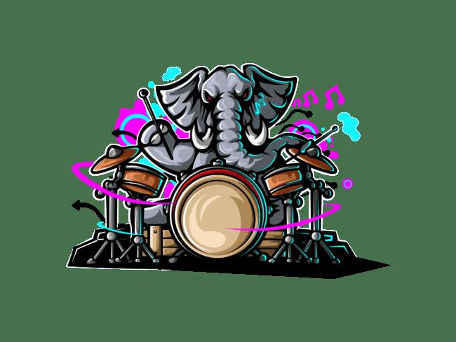 Elephant-with-drum-3
