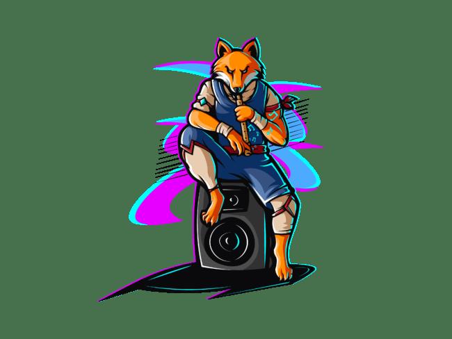 Fox-with-fluet-3