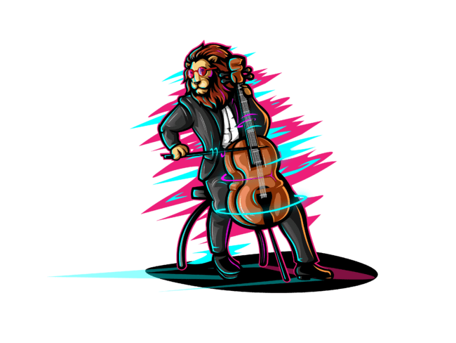 Lion-with-Cello-3