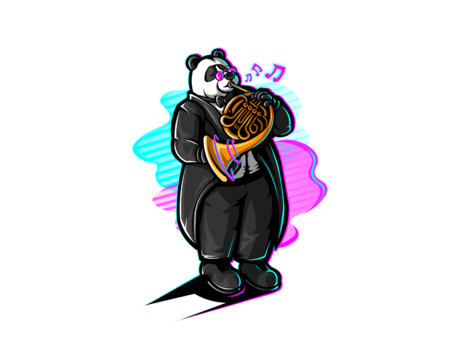 Panda-with-french-horn-3
