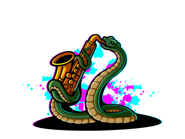 Snake-with-sexaphone-3